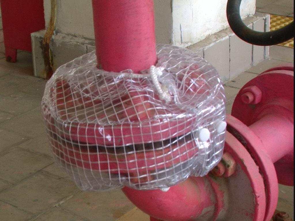 Pvc (polyethylene)flange Shields Ptfe Flange Spray