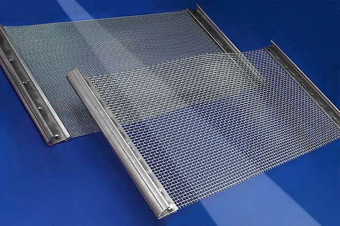 Metal Mesh Screen : Wire mesh screen sieving demister